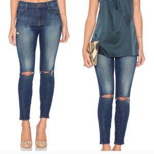 J brand skinny leg dark wash jeans